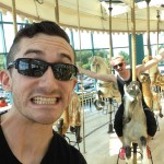 Carousel riders!