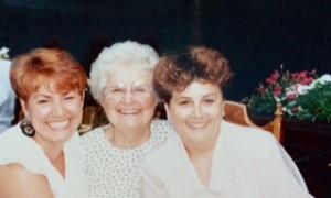 Mom, Debbie & me